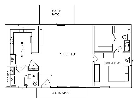 637 best images about small homes on pinterest one for 20x40 house layout