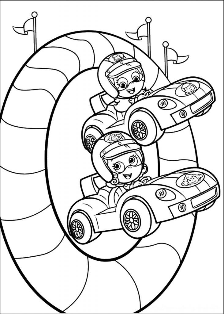 60 best Bubble Guppies Coloring Pages images on Pinterest