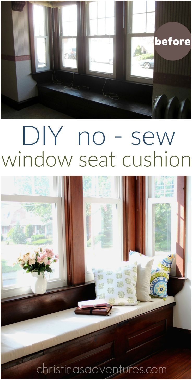 best 25 window seat cushions ideas on pinterest window seats bench seat cushions and diy. Black Bedroom Furniture Sets. Home Design Ideas