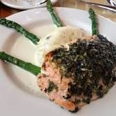 Image result for herb crusted salmon cheesecake factory