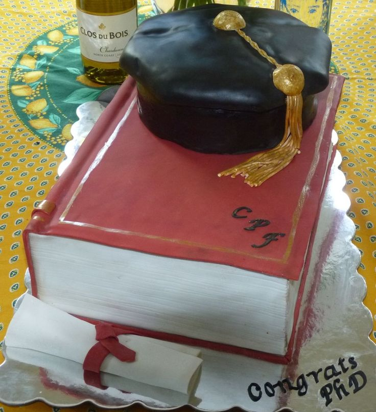Pin By Violetta Doty On Cake Decorating Phd Graduation