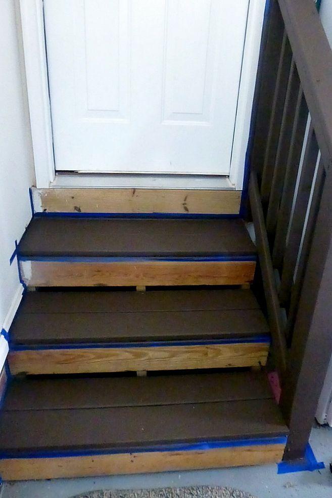 Renewing Boring Garage Steps Garage Stairs Garage Steps