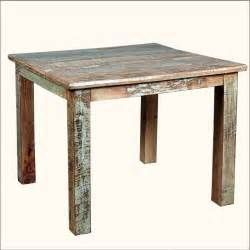 Search Reclaimed wood square kitchen table. Views 154455.