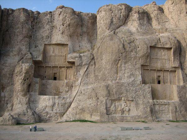 Naqsh-e Rostam  The Tomb of Darius the 1st Persepolis, Iran