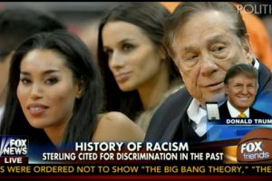 """Donald Trump: Donald Sterling was """"set up"""" by his """"very, very bad"""" """"girlfriend from hell"""""""