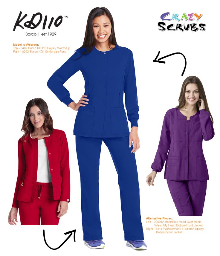 Today's Outfit of the Day features #KD110 Scrubs by Barco Uniforms! #SustainableFashion #LoveWhatYouWear