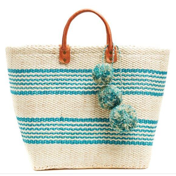 Mar y sol Caracas basket tote Never worn. No trades. Price firm unless bundled. Mar y sol Bags Totes