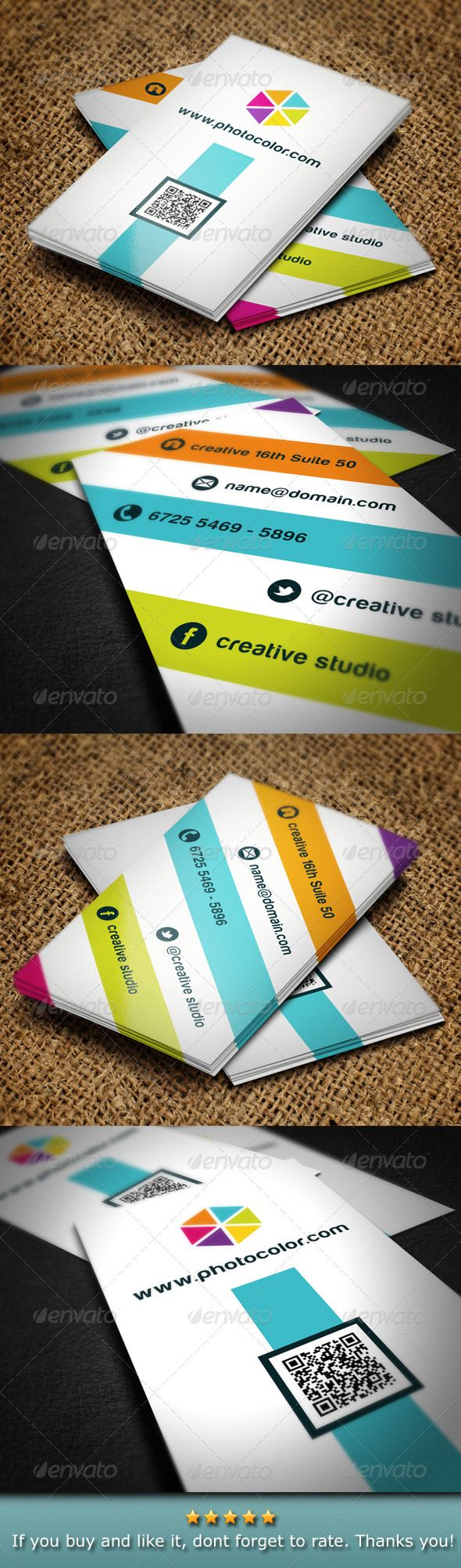 Creative Color Business Card 97 best Tarjetas