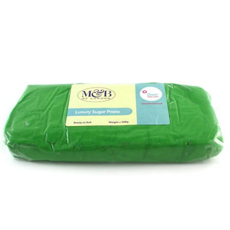 M Green Luxury Ready To Roll Sugarpaste 500g