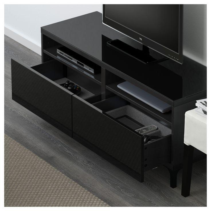 best tv unit with drawers blackbrown selsviken