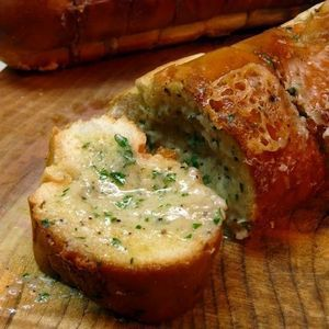 Italian Garlic Bread with Gorgonzola | Bread and Butter | Pinterest