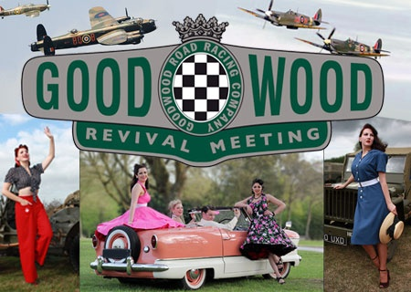 @Vivien Holloway at the Goodwood Revival