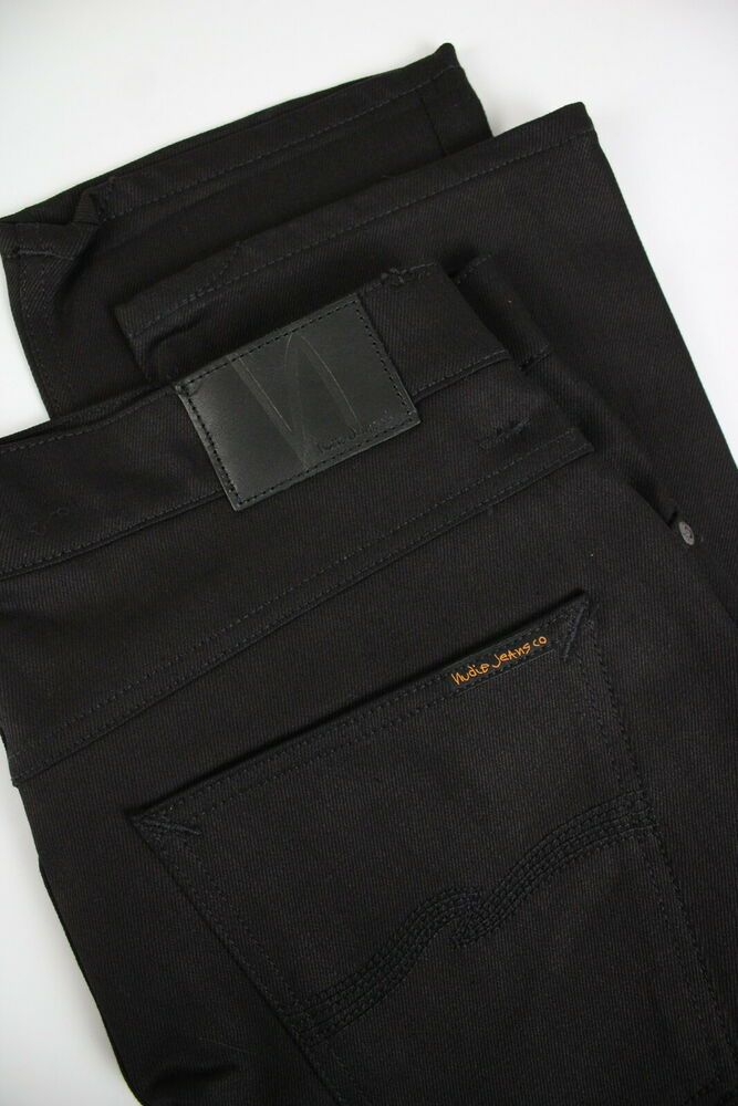4f9ccd28 NUDIE JEANS GRIM TIM BLACK RING Mens W34/L30 Slim Stretchy Organic Jeans  #0620- #fashion #clothing #shoes #accessories #mensclothing #jeans (ebay  link)