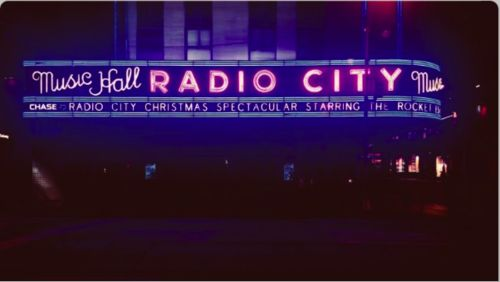 Radio City Music Hall - a place to go  I loved it as a child New York NY photo from Harry Stedman • Official Tumblr