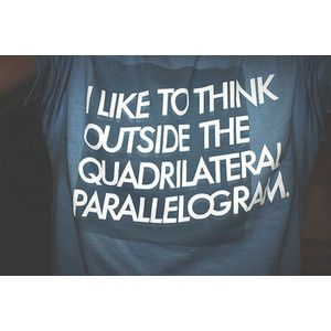 math jokes :D Definitely want this shirt!