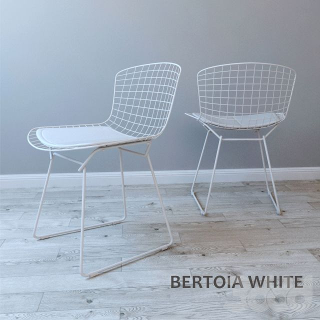Стул BERTOIA WHITE