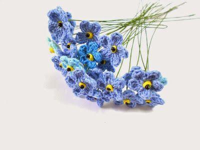 21 besten Häkeln: Blumen Bilder auf Pinterest | Häkeln, Blumenmuster ...