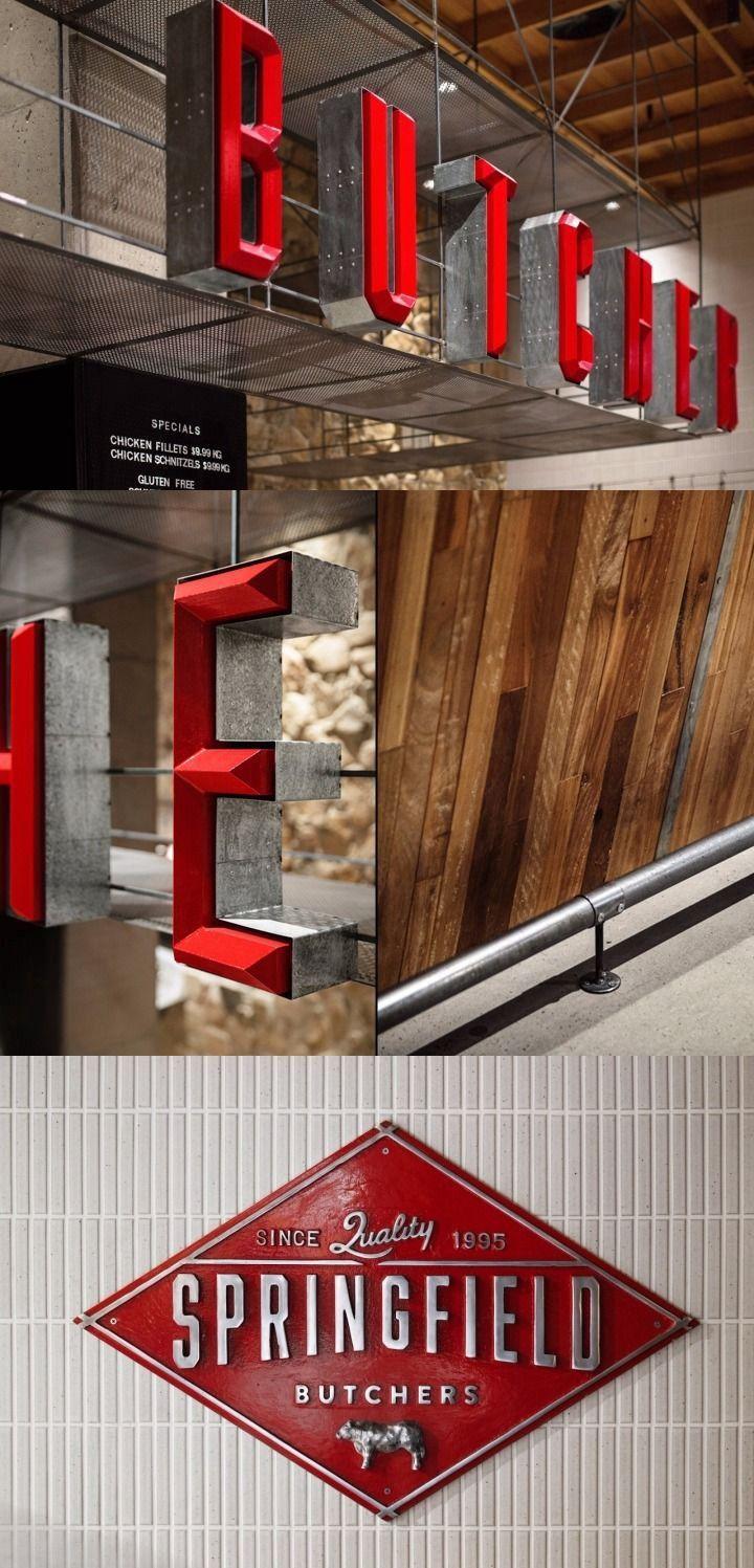 Wood Exterior Signage