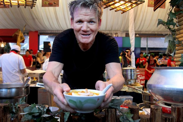 Cooking tips and techniques from chef Gordon Ramsay: How to finely chop and onion.
