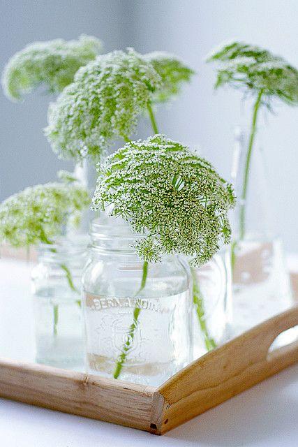 mismatched vases