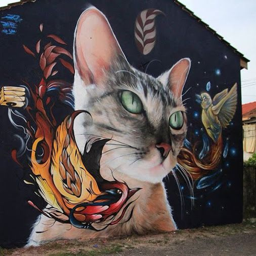 MantrareaStreet Art More Pins Like This At FOSTERGINGER @ Pinterest