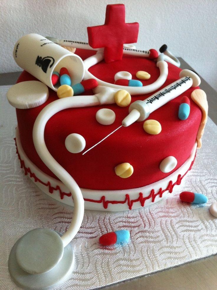 Gâteaux D Anniversaire, Infirmiere, Gateau, Recettes, Filles, Afficher, Origine, Médecin DAnniversaire, Je