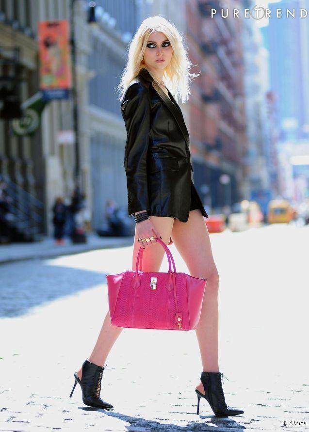 taylor Momsen Street Style | Taylor Momsen fait son grand retour dans le monde…