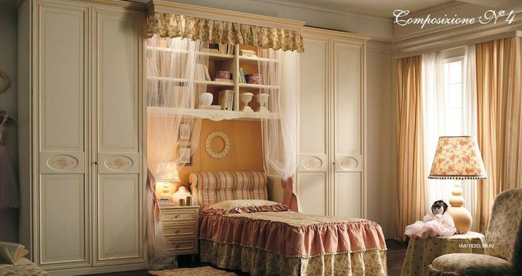 Гарнитур для детской спальни Camerette, Ebanisteria Bacci - Мебель МР