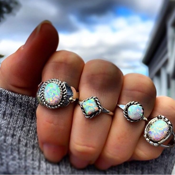 Navajo Opals  Hand Crafted by Navajo Artisans and available in our 'Navajo' Collection www.indieandharper.com