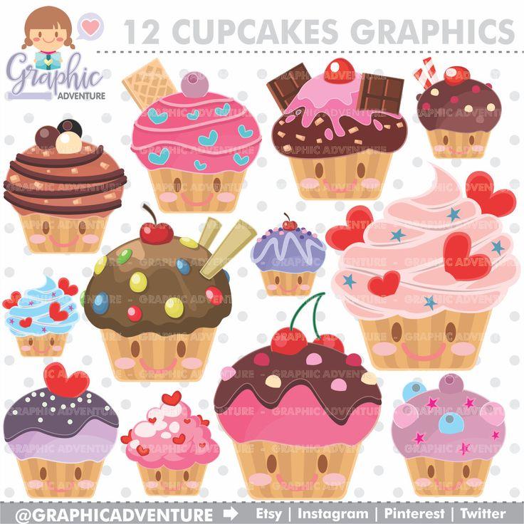 25 cupcake clipart ideas
