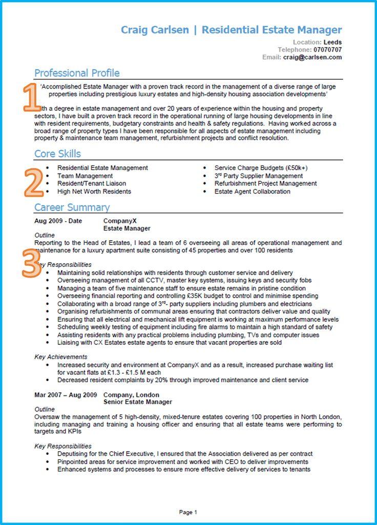 Example of a good CV 13 winning CVs [Get noticed] in