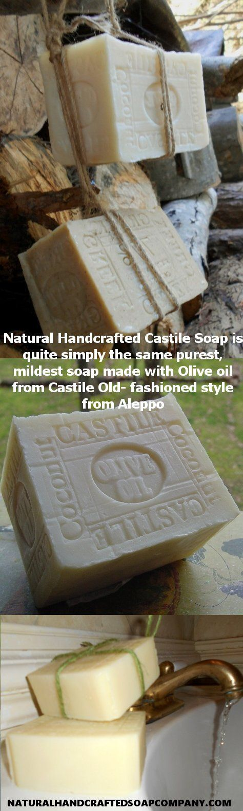 The origins of Castile Soap can be traced back to The Levant Where Aleppo Soap Makers Have Been Making Olive and Laurel Oil Based Soaps Natural Handcrafted Castile Soap is quite simply the same purest, mildest soap made with Olive oil from Castile Old- fashioned style from Aleppo