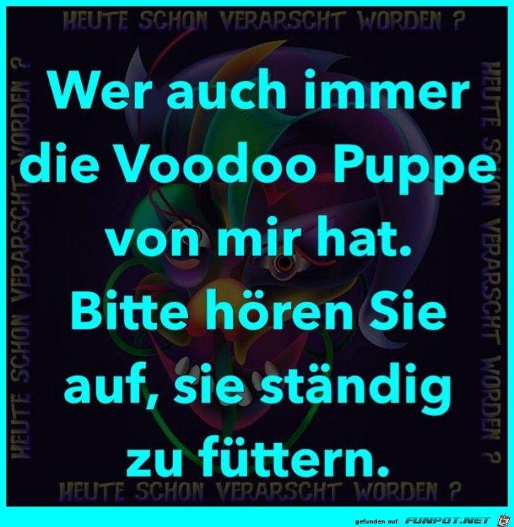 lustiges Bild 'Voodoo Puppe von mir.jpg'- Eine von 25375 Dateien in der Kategorie 'klasse Sprüche und Witze' auf FUNPOT.