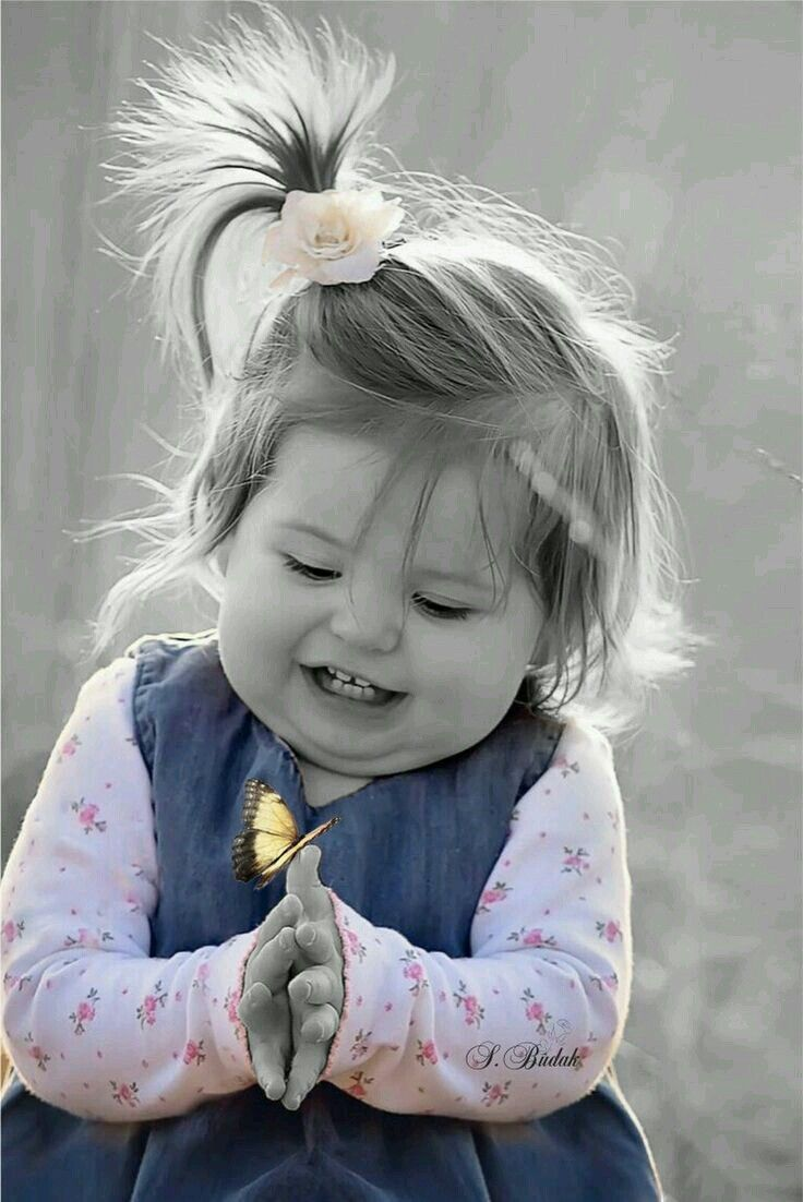 Картинки красивые детки хорошего настроения, открытка шаблон