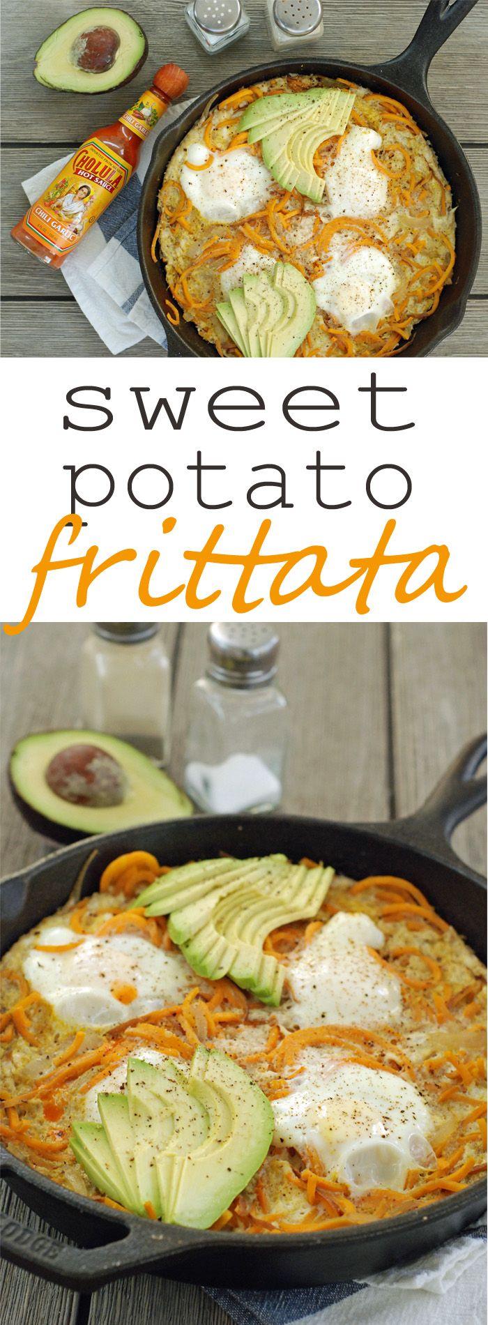 Fast Sweet Potato Frittata