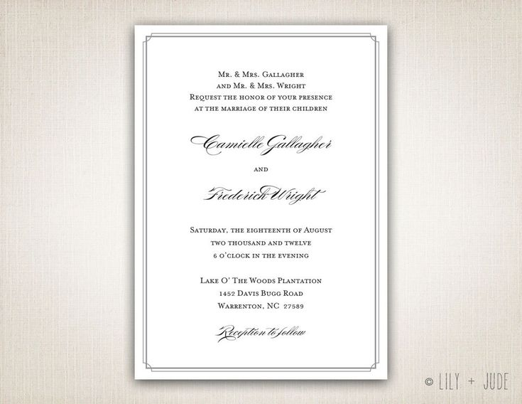 Typical Wedding Invitation Wording: 300 Best Images About Wedding Day Dreams! On Pinterest