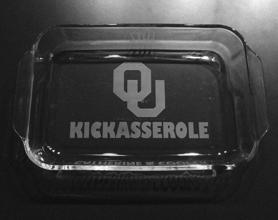 Oklahoma Sooners Kickasserole by IslandGraphics on Etsy