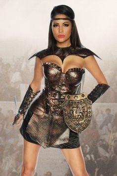 Gladiatorin Kostüm Sexy Gladiator Kostüm