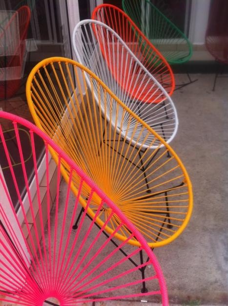 I am a bit obsessed with Acapulco chairs and need one in my life...
