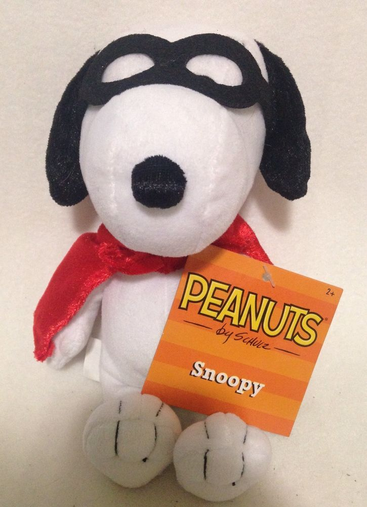 "Peanuts Halloween Snoopy Plush 7"""