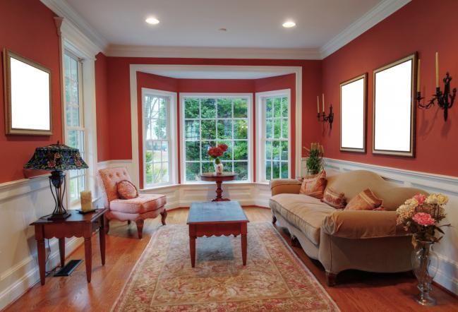 Cómo pintar una habitación de dos colores - Hogar Total