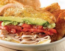 BJ's Restaurant and Brewhouse Turkey Club