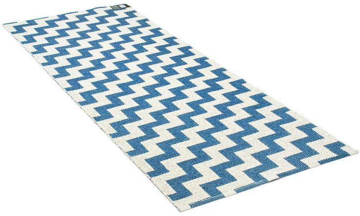 Gunnel blue - plastmatta Brita Sweden