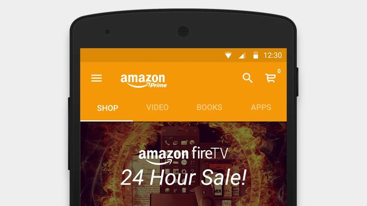 I wanted to see what the Amazon app would look like if Material Design principles were applied to it.  The result is a fresh redesign of the Amazon mobile app.