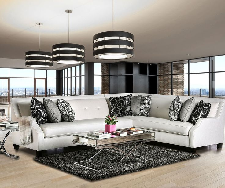 Best 25+ White sectional ideas on Pinterest | Modern decor ...