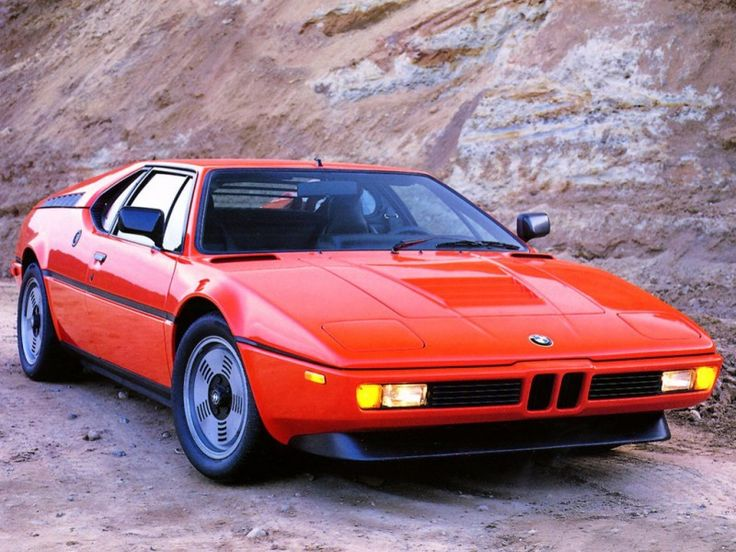 BMW M1 E26 1981. Stunning, and far ahead of its time.