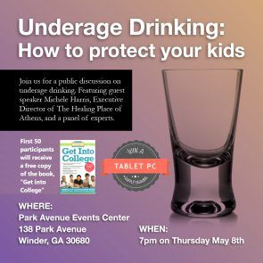 Town Hall Meeting: Underage Drinking: How to protect your kids! - Events Event, Schools - Barrow, GA Patch
