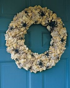 Musty Wreath Relic and more on MarthaStewart.com.....COULDN'T THIS BE MADE WITH SELECT CARNATIONS?