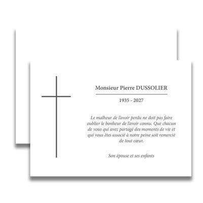 plus de 25 id es uniques dans la cat gorie carte de deuil sur pinterest carte de deces cartes. Black Bedroom Furniture Sets. Home Design Ideas