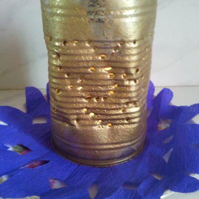 Make a Tin Light Shade